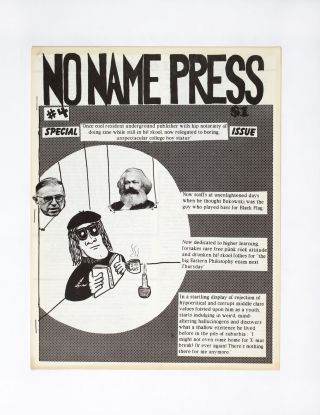 No Name Press #4. Paul Sommerstein