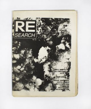 RE/Search #3. V. Vale