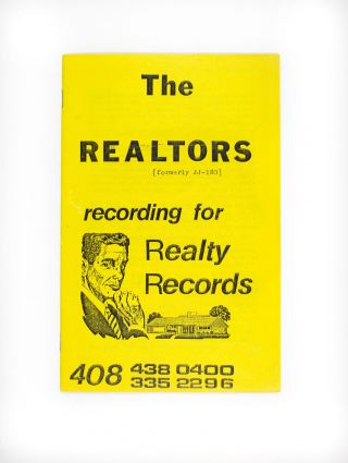 The Realtors: Recording for Realty Records. The Realtors.