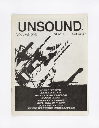Unsound Volume One Number Four. William Davenport