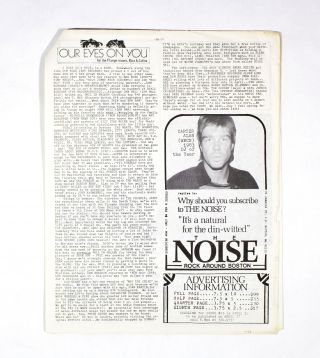 The NOISE – Rock Around Boston, Issue 24
