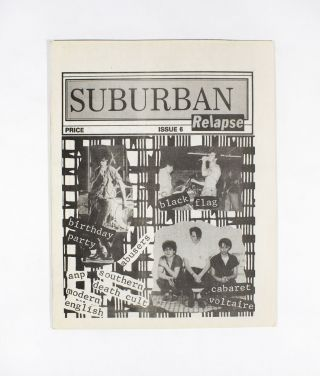 Suburban Relapse Issue 6. Barry Soltz