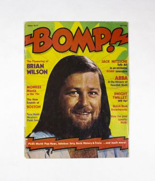 BOMP, Winter '76/77. Ken Barnes Greg Shaw
