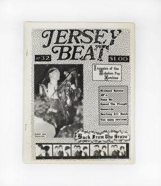 Jersey Beat #32/Vol. IV, No. III. Jim Testa