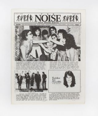 The NOISE – Rock Around Boston, Issue 27. T. Max