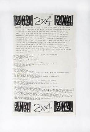 Free Search and Destroy Potpourri [Fake Search and Destroy Zine]