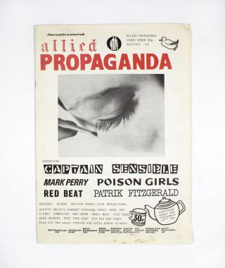 Allied Propaganda Issue Seven (September/October 1982). Ray, eds Mick