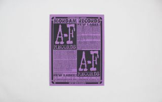 Mordam Records catalog collection