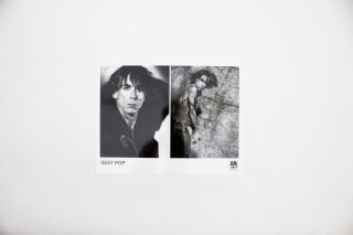 Iggy Pop promotional material (1979-1981)