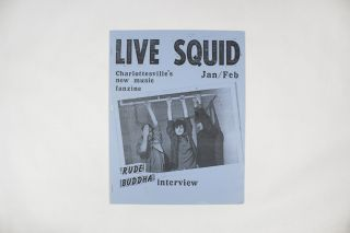 Live Squid, No. 3, January/February 1985. ed Maynard Sipe