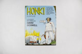HONK!, No. 4, May 1987. ed Joe Sacco