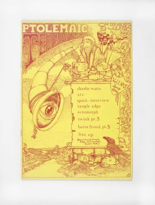 Ptolemaic Terrascope: Vol. 1 No. 3 (1990). ed Phil McMullen
