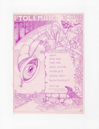 Ptolemaic Terrascope: Vol. 1 No. 2 (1989). ed Phil McMullen