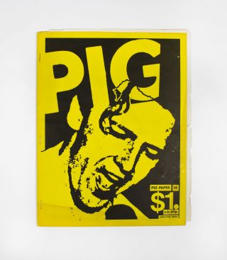 PIG PAPER, Number 14, January 1982. ed Gary Pig Gold