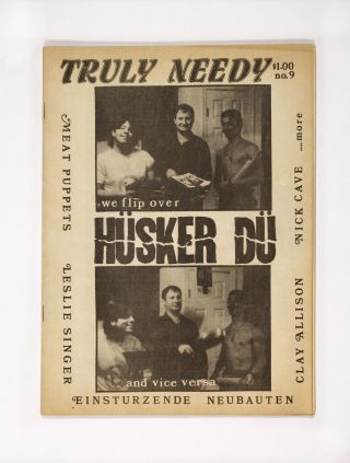 Truly Needy No. 9 (1985). pub Truly Needy Productions
