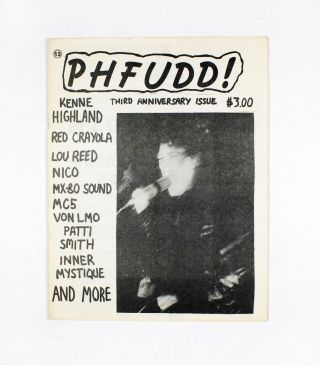 PHFUDD! No. 13, January/February/March (1988). FUD, Christopher Stigliano