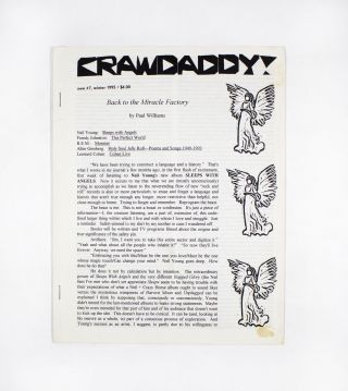 Crawdaddy!, new no. 7. ed Paul Williams
