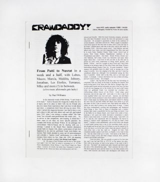 Crawdaddy!, new no. 10. ed Paul Williams