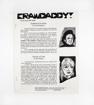 Crawdaddy!, new no. 8. ed Paul Williams