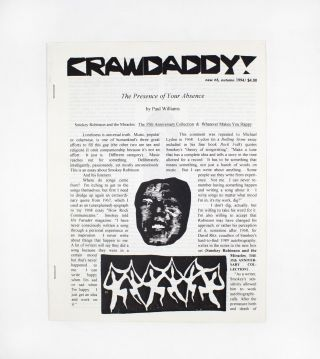 Crawdaddy!, new no. 6. ed Paul Williams