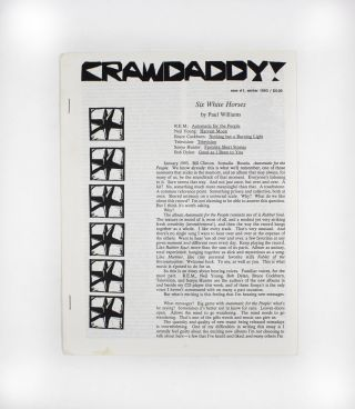 Crawdaddy!, new no. 1. ed Paul Williams