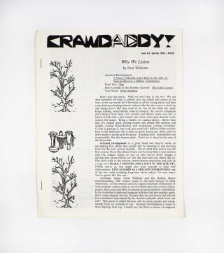 Crawdaddy!, new no. 2. ed Paul Williams