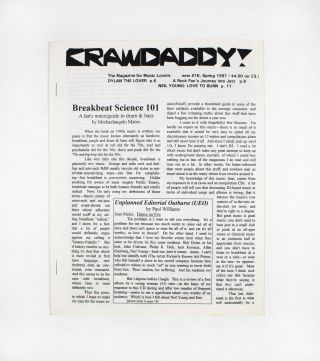 Crawdaddy!, new no. 16. ed Paul Williams