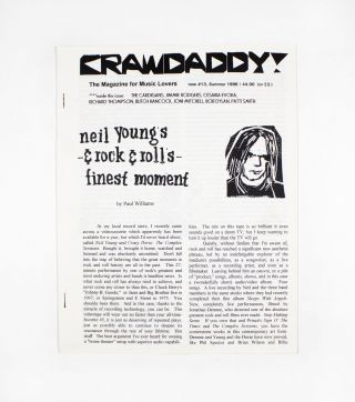 Crawdaddy!, new no. 13. ed Paul Williams