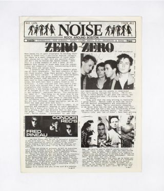 The NOISE – Rock Around Boston, Issue 25. ed T. Max