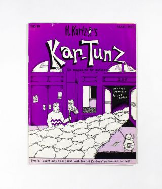 Harvey Kurtzman's Kar-Tünz No. 18. Scott Russo Harvey Kurtzman, Sam Henderson