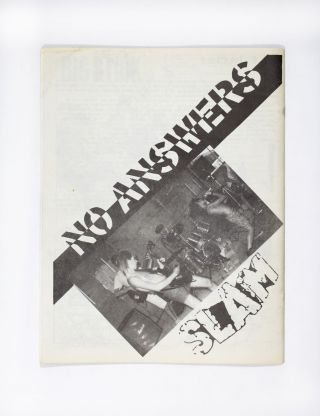 No Answers Issue No. 4