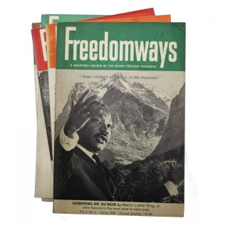 Sixteen Issues of Freedomways (1961-1968). W E. B. Du Bois