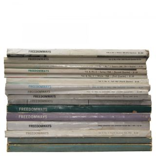 Sixteen Issues of Freedomways (1961-1968)