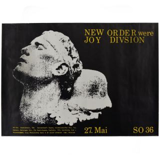 New Order Were Joy Divsion [sic]. Mark Reeder, New Order