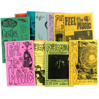 Collection of 39 Issues of Feel the Music, Sound Effects and Other Mail Order Catalog Zines. Paul...