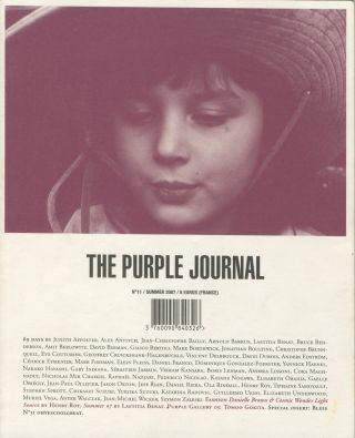 The Purple Journal, No. 11. Elein Fleiss, Olivier Zahm