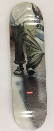 """Kids"" 40oz skate deck. Larry Clark x. Supreme"