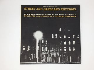Beats and Improvisations by Six Boys in Trouble. Street, Gangland Rhythms