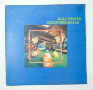 Ball Power. Coloured Balls