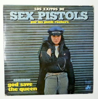 Los Exitos De Sex Pistols. Los Punk Rockers