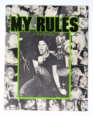 My Rules Photozine (The One and Only Issue). Glen E. Friedman