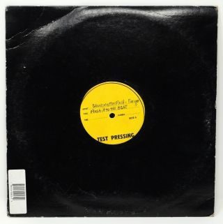 Flash it to the Beat / Fusion Beats Vol. 2 [Test Pressing]. Grandmaster Flash, The Furious Five
