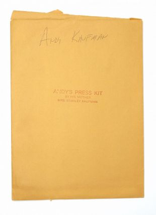 Andy Kaufman Press Kit
