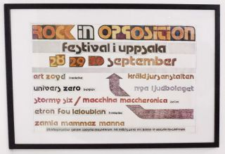 Rock in Opposition Festival '79. R I. O