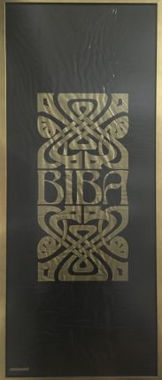 Biba Shopping Bag, Framed