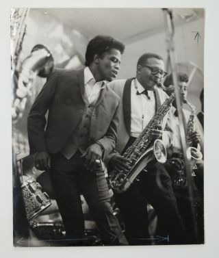 """James Brown - in action!"". Charles Stewart"