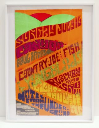 Country Joe & The Fish Handmade Poster