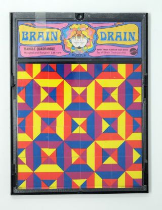 Brain Drain Puzzles, set of 4