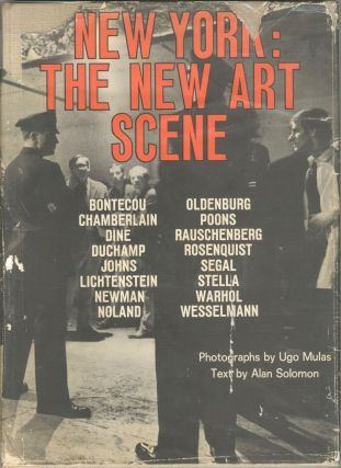 New York: The New Art Scene. Ugo Mulas, Alan Solomon
