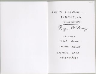 Moonmilk [first edition, signed and inscribed]